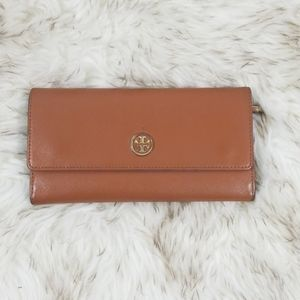 Tory Burch Robinson Continental envelope wallet